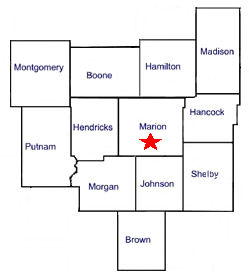 Indiana appraisal services area